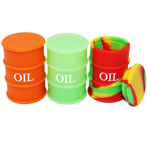 Oil Drum Non Stick Sillicone Container