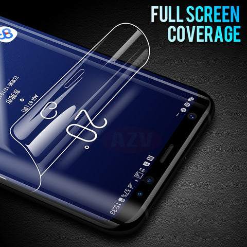 Image of 6D Full Cover Soft Hydrogel Film For Samsung S- Series & Note Devices