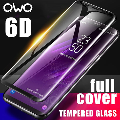 Image of 6D Full Curved Tempered Glass For Samsung S & A- Series Devices