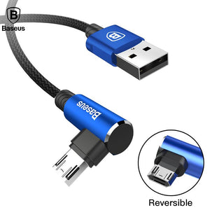 Baseus Right Angle USB Charger Charging Cable
