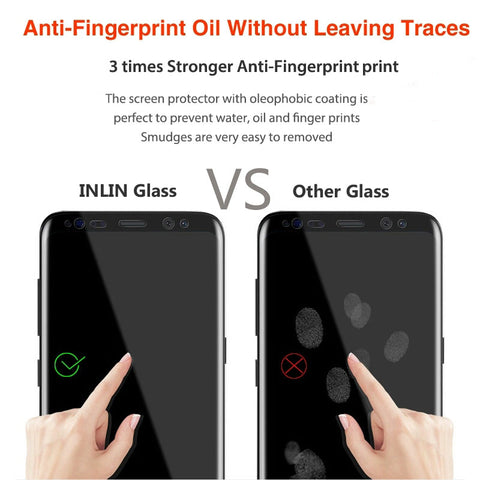 Image of 6D Full Curved Tempered Glass For Samsung S& A Series Devices (Click on size to select your phone