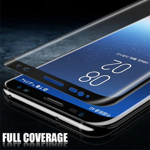 6D Full Curved Tempered Glass For Samsung S& A Series Devices (Click on size to select your phone