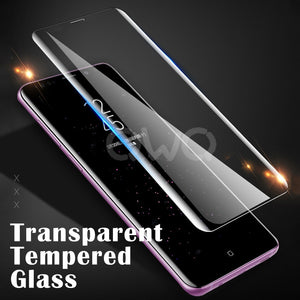6D Full Curved Tempered Glass For Samsung S & A- Series Devices