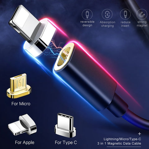 Image of 4.5' Magnetic Cable For  iPhone, Samsung, Motorola & More