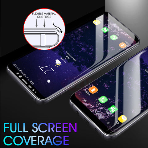 6D Full Cover Soft Hydrogel Film For Samsung S- Series & Note Devices LIFETIME REPLACEMENT WARRANTY