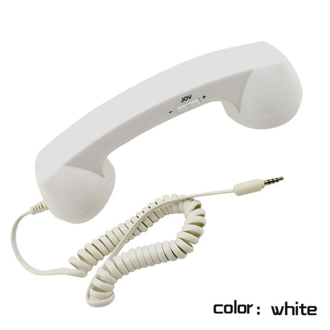 Image of Wireless Retro Telephone Handset-Radiation-proof Handset Receivers for a comfortable call