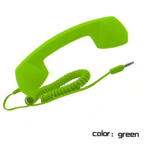 Wireless Retro Telephone Handset-Radiation-proof Handset Receivers for a comfortable call