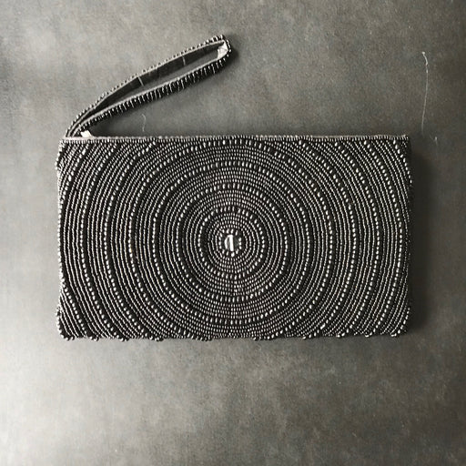 BLACK BEAD WALLET