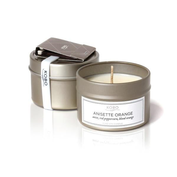 ANISETTE ORANGE TRAVEL CANDLE