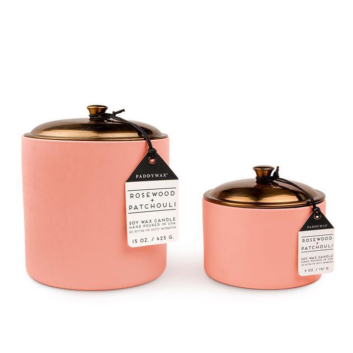 HYGGE CANDLE ROSEWOOD & PATCHOULI SMALL