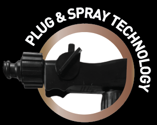House Power Clean Super Concentrate, Plug and Spray Technology