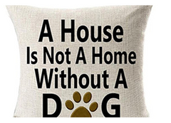 a house is not a home linen pillow