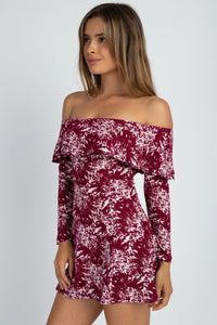 Cheri'- Off the Shoulder Super Soft Top/Dress