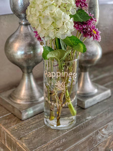 Share Happiness-Flower vase