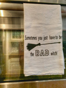 Bad Witch-Kitchen Towel
