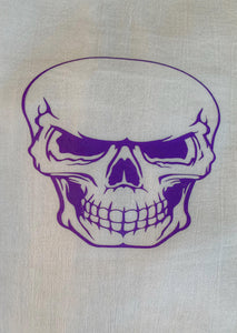 Scary Skull-Handmade Kitchen Towel