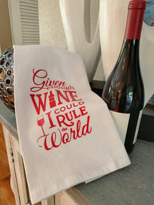 Rule the World-Kitchen Towel