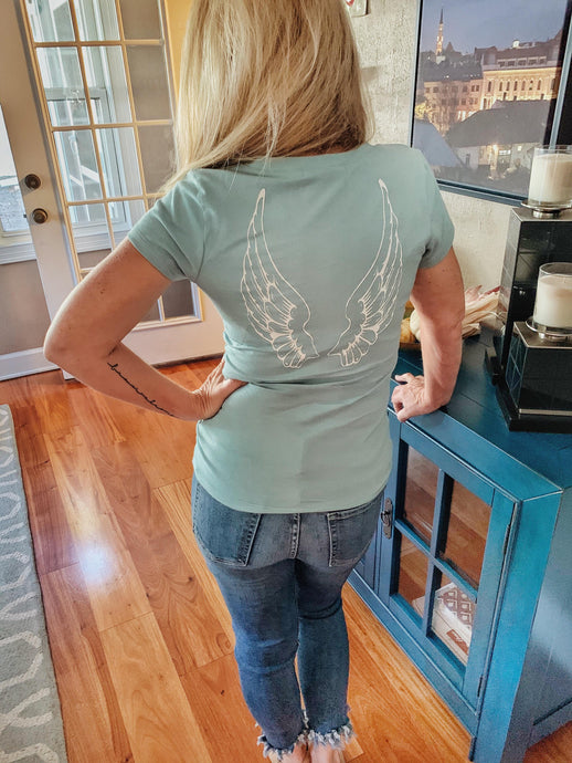 Angel Wings-Sophisticated Fun T-shirt