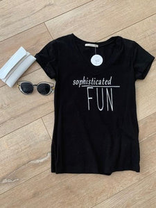 Sophisticated Fun T-shirt
