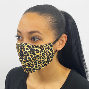 Face Mask- Cheetah (sizes S-XL)