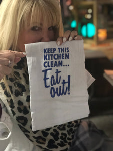 Eat Out! Kitchen Towel
