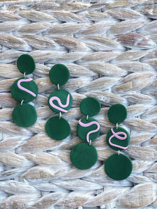 Ira-Handmade Modern Drop Earrings