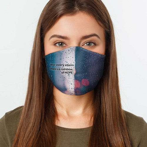 Face Mask-Rainbow of Hope (S-XL)