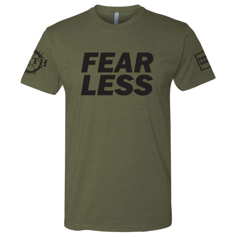 Green FEARLESS Shirt