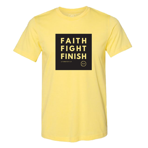 FAITH FIGHT FINISH Shirt
