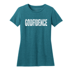 GODFIDENCE WOMENS FITTED SHIRT