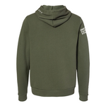 FAITH + FITNESS Unisex Military Green Hoodie