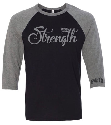 Not My Strength Raglan