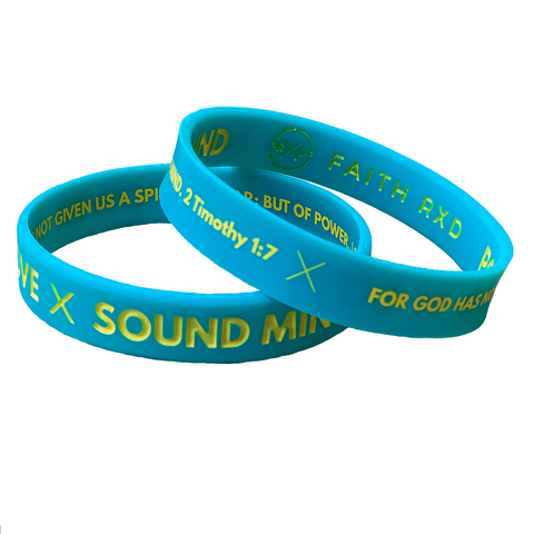 POWER LOVE SOUND MIND Wristband (Set of 2)