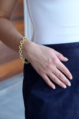 The Tammy- Large Link Bracelet