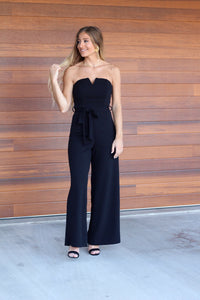 You Wish Jumpsuit- Black