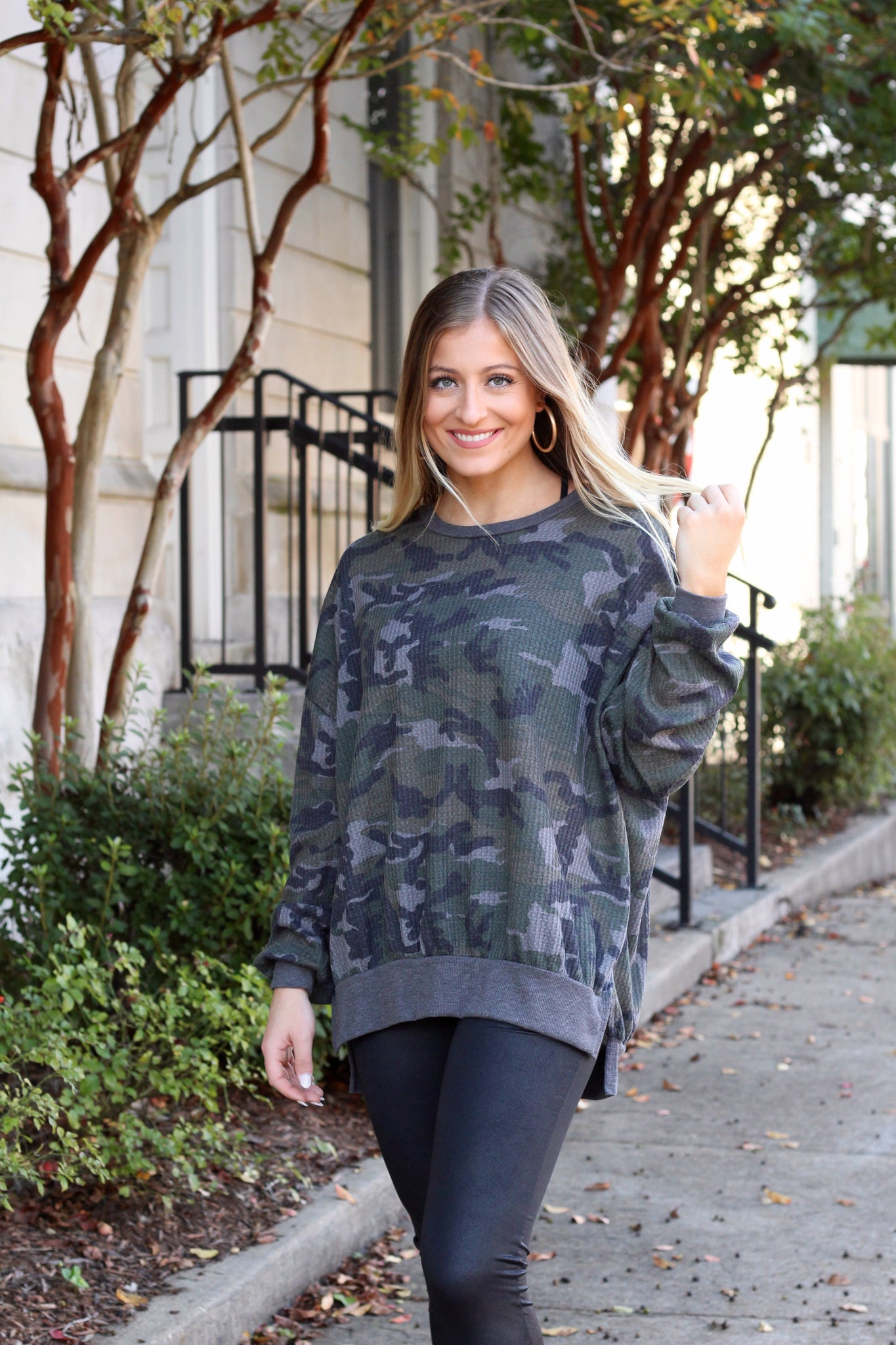 Can't See Me Camo Thermal Top