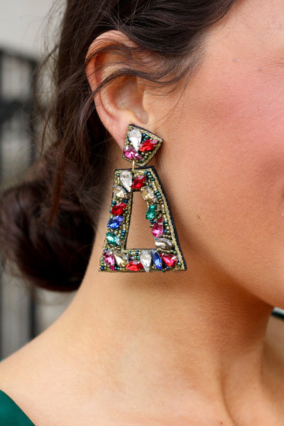 Holiday Vibes Multicolor Earrings