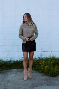 Cozy Dreams Sweater- Mocha