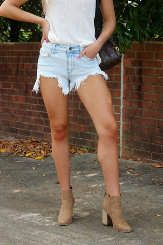 All American Girl Denim Cutoffs