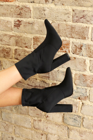 Black Sock Booties