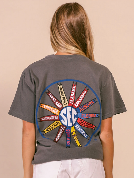 SEC Pinwheel Comfort Colors T-Shirt