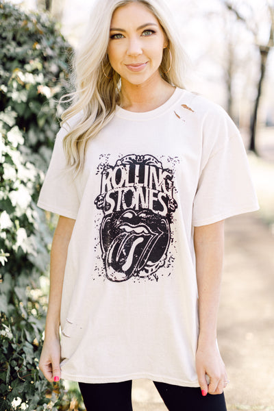 Let's Roll Distressed Tee