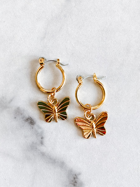 Butterfly Kisses Hoops
