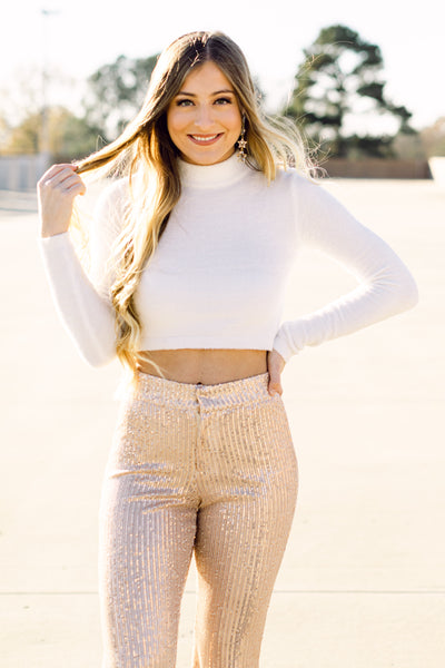 Better Than Your Dreams Cream Cozy Sweater