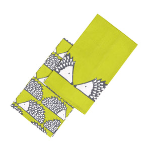 Spike Set of 2 Tea Towels - Green