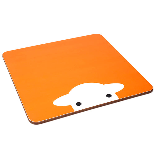 Peep Melamine Tablemat Orange