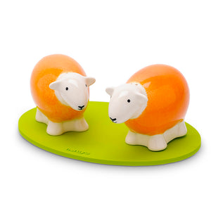 Salt & Pepper Shakers - Orange