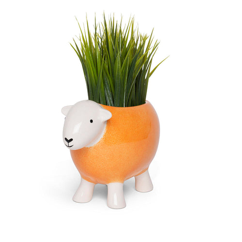 Stoneware Planter Orange