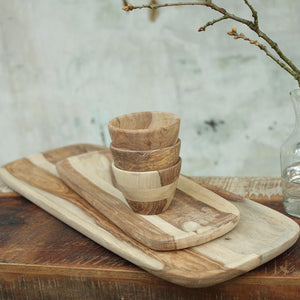 Atu Sheesham Small Wood Platter