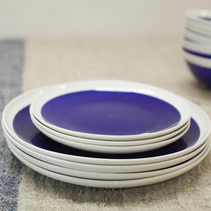Datia Navy Dinnerware Set 12 Pieces